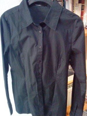 schwarze Hemdbluse tailliert von Vero Moda 38
