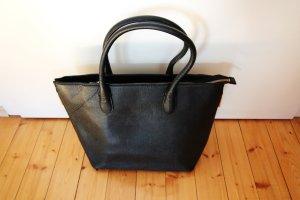 H&M Carry Bag black imitation leather