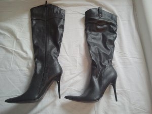 Schwarze high heel Stiefel