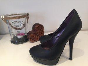 Schwarze High Heels 14cm Absatz