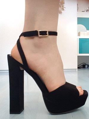 Schwarze High Heels 15 cm