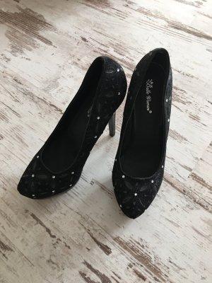 Schwarze  high heels