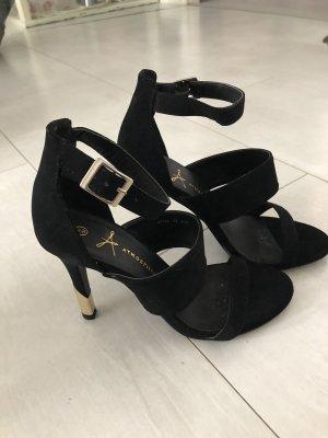 Schwarze High Heels Gr. 37