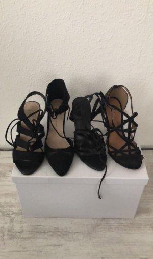 Schwarze High Heels in Größe 36/37