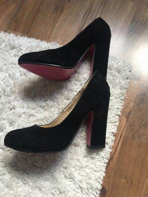 Schwarze High Heels Jumex