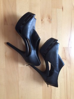 Schwarze High Heels neuwertig