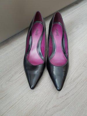 schwarze High Heels, Stilettos, Pumps, Gr. 39