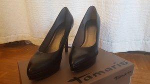 schwarze High Heels von Tamaris (1x getragen)