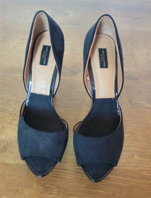 schwarze High Heels Zara Collection Gr 37