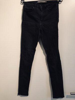 Vero Moda Jeans a vita alta nero