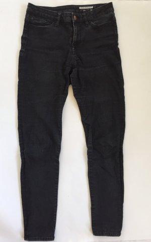 Schwarze High Waist Jeans von edc