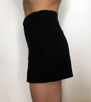 schwarze High Waist Shorts von Zara