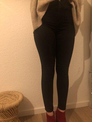 Bershka High Waist Jeans black