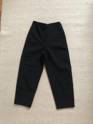 Schwarze HighWaist Stoffhose