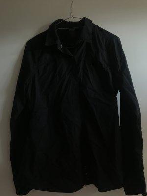 Schwarze hilfiger denim Bluse Größe Medium