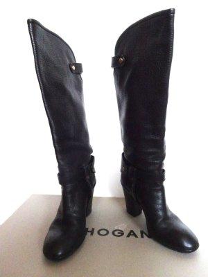 schwarze Hogan Stiefel