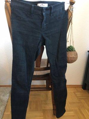 Schwarze Hollister Skinny Jeans