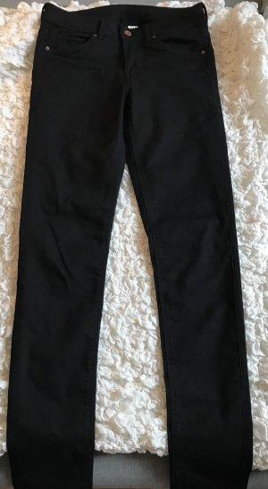 H&M Jeans coupe-droite noir