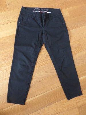 Esprit 7/8-broek zwart Gemengd weefsel