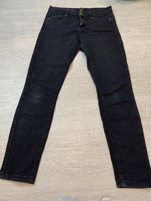 Forever 21 Pantalone a vita bassa nero