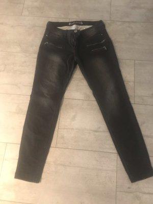 Biker Jeans black
