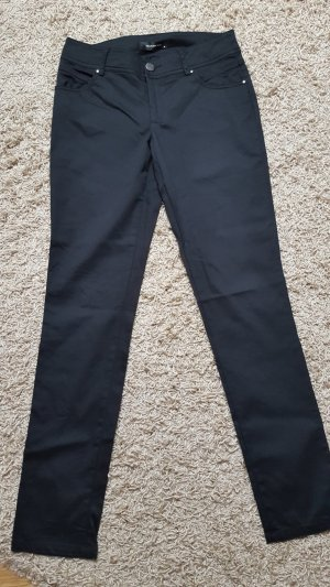 Hallhuber Five-Pocket Trousers black mixture fibre