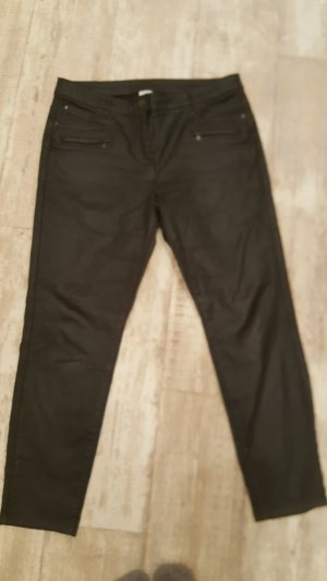 Canda Leather Trousers black