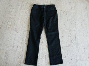 C&A Low-Rise Trousers black cotton