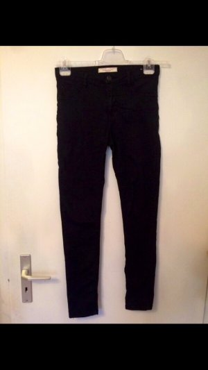 Schwarze Hose high waste super Skinny S