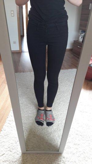 Schwarze Hose Jegging tally weijl Größe 36/38 medium waist push-up skinny
