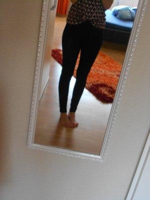 Schwarze Hose (Leggings) von Zara Trafaluc