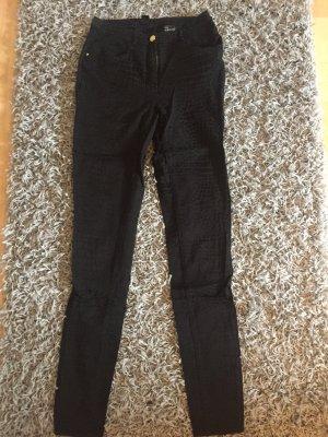 Schwarze Hose mit Muster