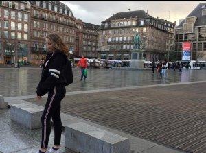 Zara Jeans taille haute multicolore