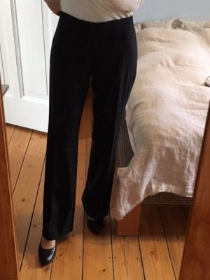 Stella McCartney Pleated Trousers black wool