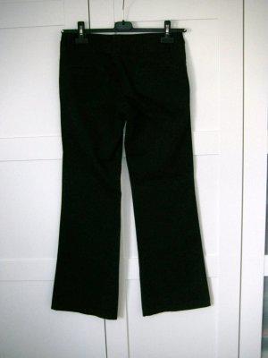 schwarze Hose, Stoffhose, Schlaghose, Zara, Gr. 36/38
