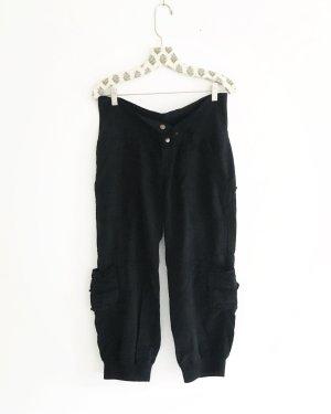 Vintage Pantalón de camuflaje negro
