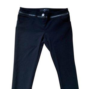 Elisabetta Franchi Pantalón de tubo negro