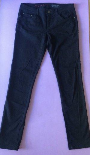 Schwarze Hose von Esprit - Größe 38 - sehr lang