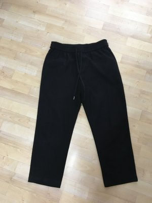 H&M Pantalon 7/8 noir polyester