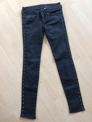 H&M Pantalon capri noir