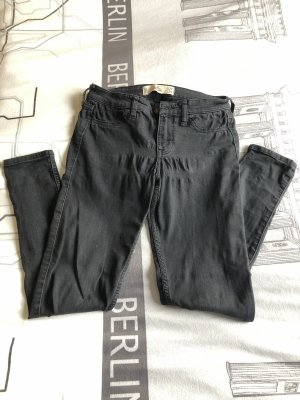 Hollister Low-Rise Trousers black
