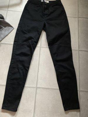Only Hoge taille broek zwart