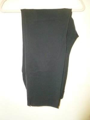 Pantalone peg-top nero