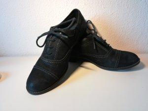 Barbara Heller Zapatos Budapest negro
