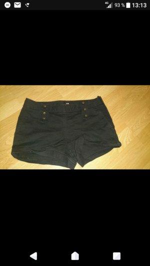 Schwarze Hotpants H&M
