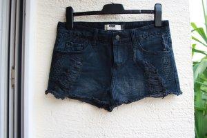Schwarze Hotpants usedlook