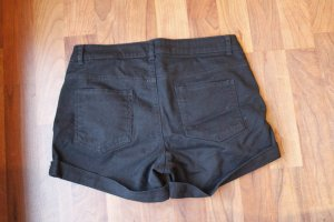 H&M Hot pants nero Cotone