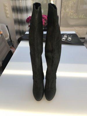 Schwarze Hugo Boss Stiefel