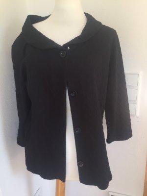 Steve Ketell Chaqueta estilo camisa negro Algodón