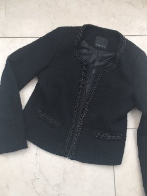 Amisu Knitted Blazer black
